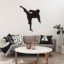 Japan Karate Wall Stickers Home Decor Chinese Kungfu Sport Wallpaper Poster Boys Bedroom Wall Graphic Home Decorative Applique Hanging Art Sticker Decor Sticker Decor For Walls From Magicforwall 10 91 Dhgate Com
