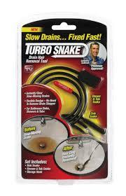 as seen on tv turbo drain snake 3 pk
