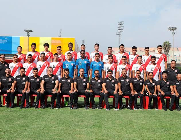 Nueva selección sub-17 de Perú