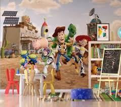 Disney Kids Bedroom Wallpaper Toy Story Photo Wall Mural Giant Size Adhesive 8595577951487 Ebay