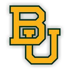 Baylor University B Vinyl Die Cut Decal 4 Sizes 3413