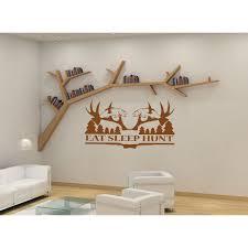 Shop Eat Sleep Hunt Kids Room Children Stylish Wall Art Sticker Decal Size 22x30 Color Brown Overstock 13667256