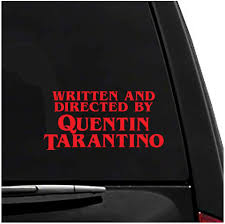 Amazon Com Quentin Tarantino Pulp Fiction Vinyl Vehicle Sticker Arts Crafts Sewing