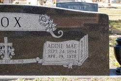 """Adeline M. """"Addie"""" Fox (1894-1978) - Find A Grave Memorial"""