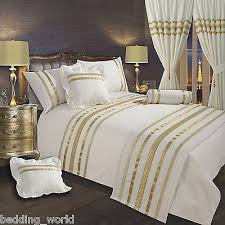 off white gold ribbon 200 thread count