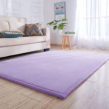 Amazon Com Super Soft Shag Area Rug For Living Room Bedroom Modern Indoor Not Slip Rugs Washable Shaggy Carpet Matt Mat For Floor Kids Purple 150x200cm 59x79inch Home Kitchen
