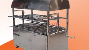 Lò nướng vịt, nướng cá, nướng chả và quay lợn mán đa năng | Lò nướng than  hoa - YouTube