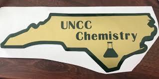 Unc Charlotte Major Vinyl Car Decal Sticker Etsy