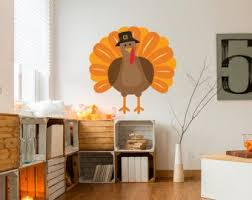 Turkey Wall Decal Etsy