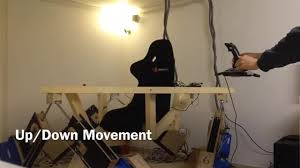 homemade motion simulator is like a