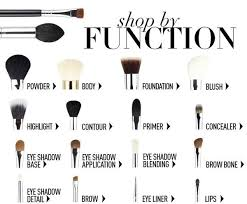 types of makeup brushes and uses