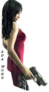 Ada Wong with long hair by NatalieJaneD on DeviantArt