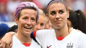 Megan Rapinoe and Alex Morgan say USA Women's team will appeal after equal  pay defeat | Football News | Sky Sports