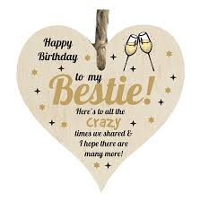 the sticker studio happy birthday best friend quote wooden