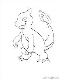 Kleurplaat Van Een Pokemon Charmeleon Gratis Kleurplaten