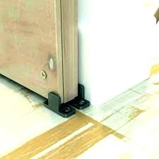 sliding door floor guide ropedia info