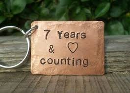 copper 7th wedding anniversary gift