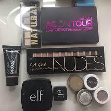 la nyc elf colourpop makeup