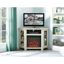 white corner tv stands inch textured