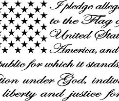 Pledge Of Allegiance American Flag Decal Black American Flag Decal Flag Decal American Flag Sticker Decals