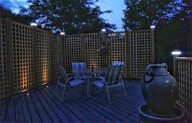 Fence Post Finishing With Solar Lights
