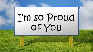 I'm So Proud | Honest about my faith