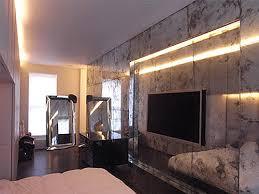 antique mirror feature walls saligo