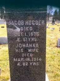 Johanna Smith (Schmidt) Hugger (1832-1914) - Find A Grave Memorial