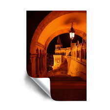 Shop Kathy Yates Fisherman S Bastion Budapest Removable Wall Art Mural Overstock 28787923