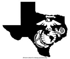 Miabella Designs United States Marine Corps Usmc Eagle Globe And Anchor Ega 50 States Yeti 30 Oz Rambler Tumbler Cup Decal Only Vinyl Decal Sticker Texas Yeti W 4 H 3 4 Wantitall