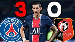 PSG RENNES (3-0) 13 Blessés ! Paris au fond du trou - YouTube