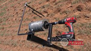 Electric Fence Reel Save Time And Energy Collecting Your Electric Fence Wire