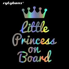 Car Sticker Decals Princess On Board Car Bumper Child Stickers And Decals Car Styling Decoration Door Body Window Vinyl Stickers Aliexpress Com Imall Com
