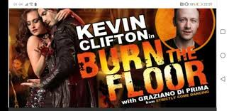 kevin clifton in burn the floor tickets