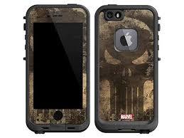 Skinit Marvel Punisher Lifeproof Fre Iphone 6 6s Skin Punisher Skull Design Ultra Thin Lightweight Vinyl Decal Protection Newegg Com