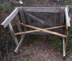 Garden Furniture How To Build A Picnic Or Garden Table