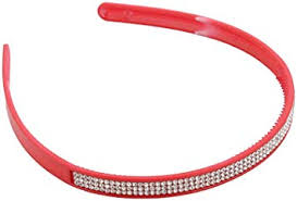 Buy Anokhi Ada Stone Studded Red Plastic Hairband for Girls Online at Low  Prices in India - Amazon.in