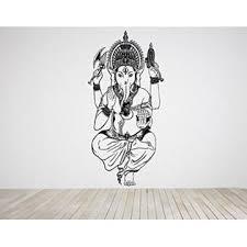 Aratikdesigns Wall Room Decor Art Vinyl Sticker Mural Decal Ganesha Indian God Big Large As800