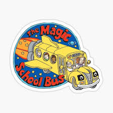 Magic School Bus Stickers Redbubble