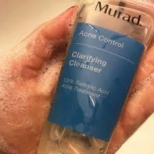oily skin murad clarifying cleanser