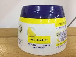 anti dandruff coconut lemon hair