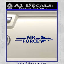 Airforce Air Force W Decal Sticker A1 Decals