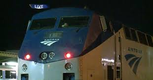 passengers stuck on amtrak train
