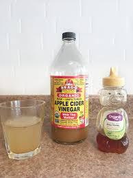 apple cider vinegar honey daily drink