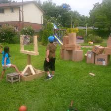 Cardboard Creations, Part 3: Life Size Angry Bird Game – Stacey Weeks
