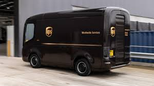 What do you think of the new UPS van ...