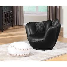 Acme Furniture Kids Seating All Star 05522 Chair And Ottoman Chairs From Furniture Place Llc