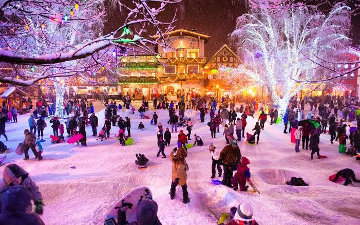Passpod, Festival winterskol, Amerika, USA