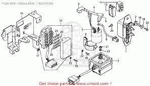 wiring diagram also 1976 honda cb750