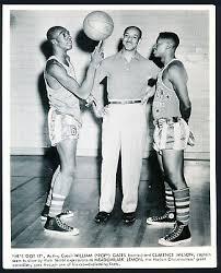 "1950's William ""Pop"" Gates Pioneer Black Basketball Superstar Harlem Rens  Phot o | eBay"